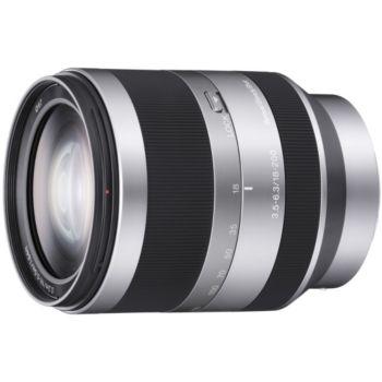 Sony SEL E 18-200mm f3.5-6.3 Silver