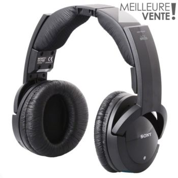 sony mdr rf865rk casque hifi boulanger. Black Bedroom Furniture Sets. Home Design Ideas
