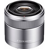 Objectif pour Hybride Sony  SEL 30mm MacroF3,5