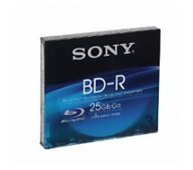 Blu-ray vierge Sony Blu Ray Disc 25Gb Recordable X3