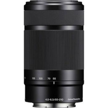 Sony SEL 55-210mm f4.5-6.3 OSS Noir