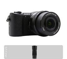 Appareil photo Hybride Sony  A5100 noir + 16-50mm + 55-210mm