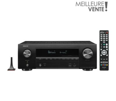 Ampli Home Cinema Denon AVRX1600H DAB Black