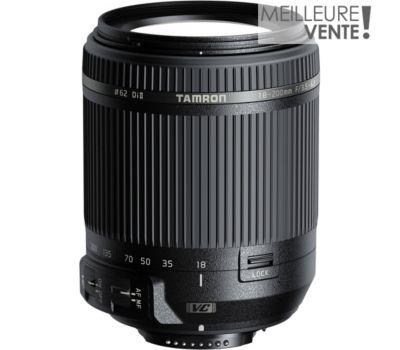 Objectif pour Reflex Tamron 18-200mm f/3.5-6.3 Di II VC Nikon