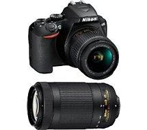 Appareil photo Reflex Nikon  D3500+18-55VR+70-300VR