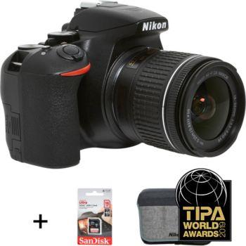 Nikon D3500+18-55mm+Etui+16Go+2ème batterie