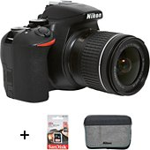 Appareil photo Reflex Nikon D3500+18-55VR+Sac+16Go+Batterie