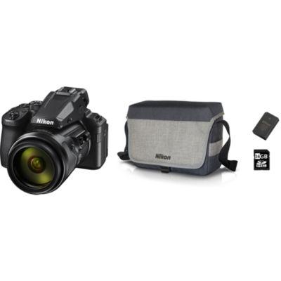 Location Appareil photo Bridge Nikon P950 noir PACK + batterie + étui + SD
