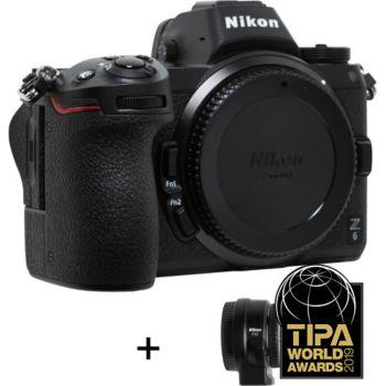 Nikon Z 6 + Adaptateur mounture FTZ AF
