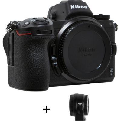 Location Appareil photo Hybride Nikon Z 6 + Adaptateur monture FTZ AF