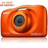 COMPACT Numérique Nikon COOLPIX W150 Orange