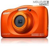 Appareil photo Compact Nikon COOLPIX W150 Orange + Sac à dos