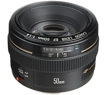 Objectif pour Reflex Plein Format Canon  EF 50mm f/1.4 USM
