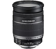 Objectif pour Reflex Canon  EF-S 18-200mm f/3.5-5.6 IS