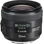 Objectif pour Reflex Plein Format Canon EF 35mm f/2 IS USM