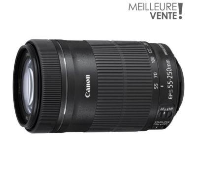 Objectif pour Reflex Canon EF-S 55-250mm f/4-5.6 IS STM