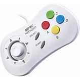 Manette Just For Games  Manette SNK NeoGeo Mini Blanche