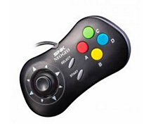 Manette Just For Games Manette SNK NeoGeo Mini Noire