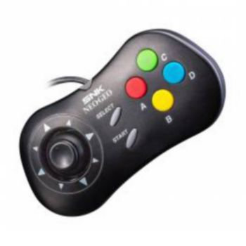 Just For Games Manette SNK NeoGeo Mini Noire