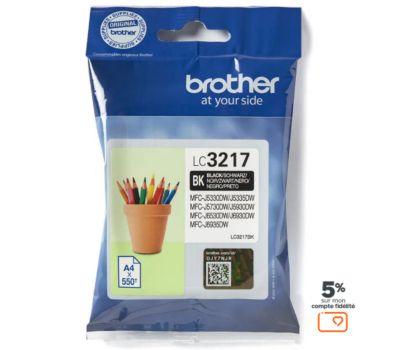 Cartouche d'encre Brother LC3217 Noire