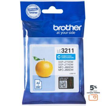 Brother LC3211 Cyan