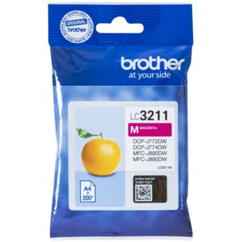 Brother LC3211 Magenta