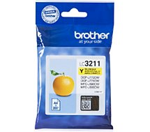 Cartouche d'encre Brother LC3211 Jaune