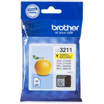 Brother LC3211 Jaune