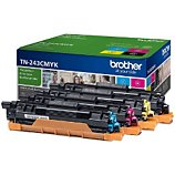 Toner Brother  Pack TN243CMYK Cyan Magenta Jaune Noir