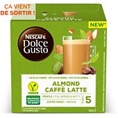 Capsules Nestle CAFFE LATTE AMANDE
