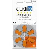 Pile Audilo Piles auditives Audilo Premium (Taille 6
