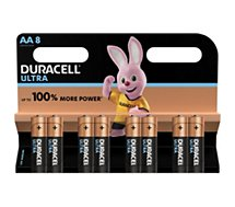 Pile Duracell ULTRA POWER AA/LR06, pack de 8 unités