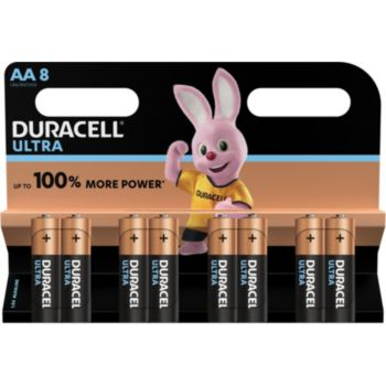 Duracell ULTRA POWER AA/LR06, pack de 8 unités