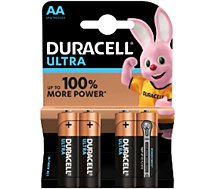 Pile Duracell AA x4 Ultra Power LR06