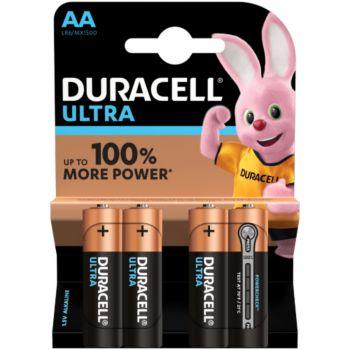 Duracell AA x4 Ultra Power LR06