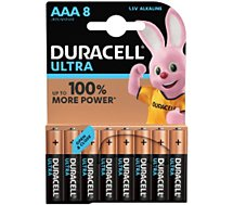 Pile Duracell  AAA x8 Ultra Power LR03