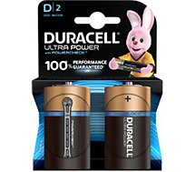 Pile Duracell D x2 ULTRA POWER LR20