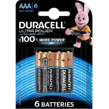Duracell AAA x6 Ultra Power LR03
