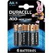 Pile Duracell AA x6 Ultra Power LR06