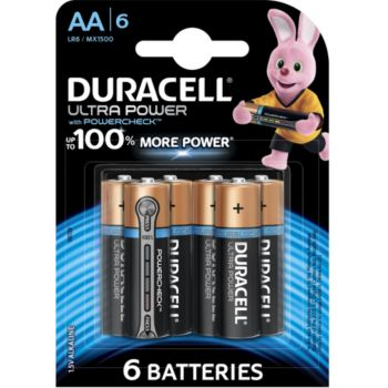 Duracell AA x6 Ultra Power LR06