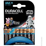 Pile Duracell  AAAx8 Ultra LR03 Star Wars