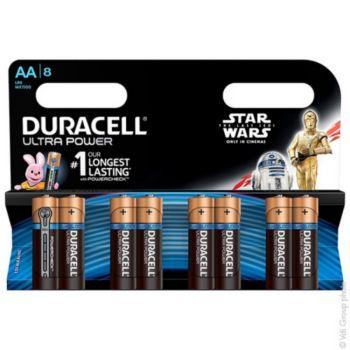 Duracell AAx8 Ultra LR06 Star Wars