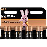 Pile Duracell  Plus Power AA/LR06 x8