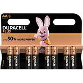 Pile Duracell Plus Power AA/LR06 x8