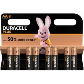 Duracell Plus Power AA/LR06 x8
