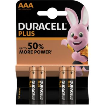 Duracell Plus Power AAA/LR03 X4