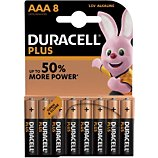 Pile Duracell  PLUS POWER AAA/LR03 x8