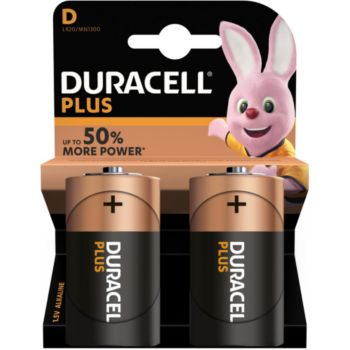 Duracell Alcaline PLUS POWER D/LR20 x2