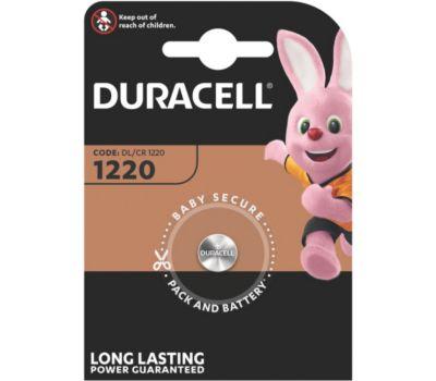 Pile Duracell lithium DL/CR 1220, 1 unité