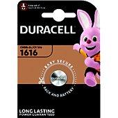 Pile Duracell 1616 X1